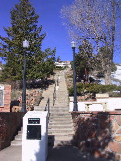 Staircase to Summit